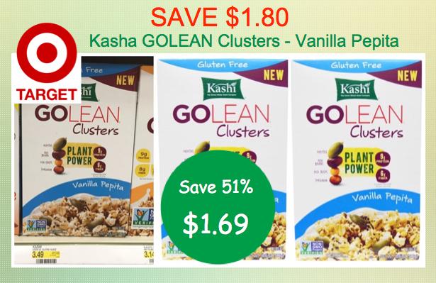 Kashi GoLean Clusters Vanilla Pepita Coupon Deal