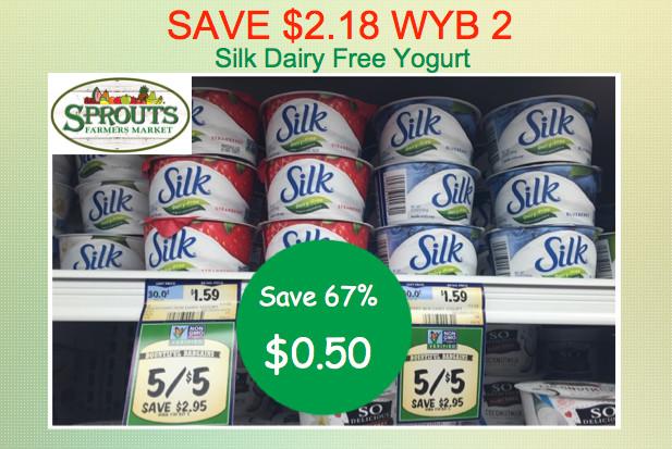 Silk Dairy Free Yogurt Coupon Deal