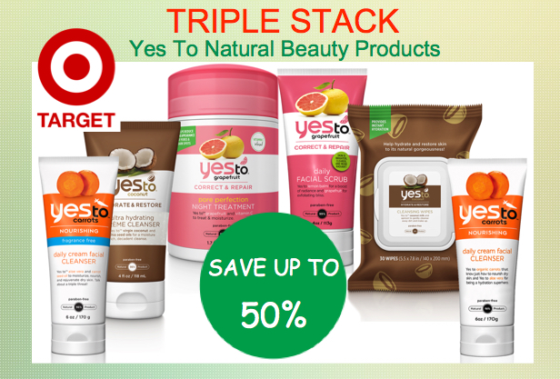 Yes To Natural Beauty Products Coupon Deal