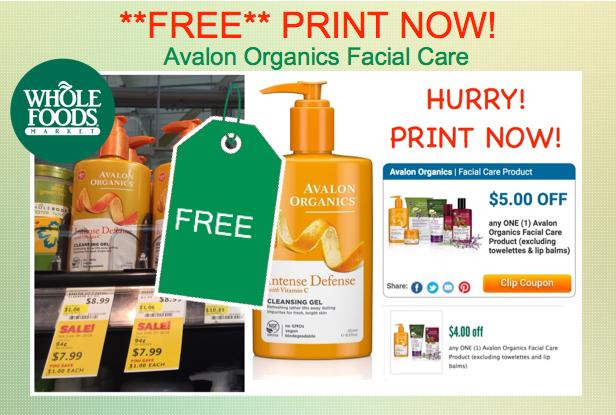 Avalon Organics Coupon Deal