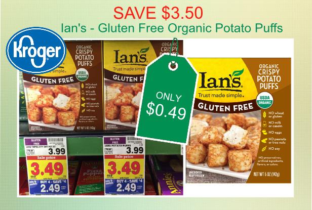 Ian's Gluten Free Organic Potato Puffs Coupon Deal