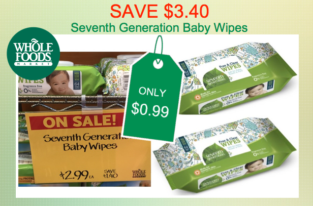 Seventh Generation Baby Wipes Coupon Deal