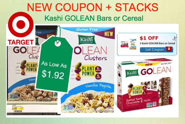 Kashi GOLEAN Bars or Cereal Coupon