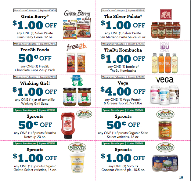 NEW Sprouts Coupons for May Monthly Flyer 2