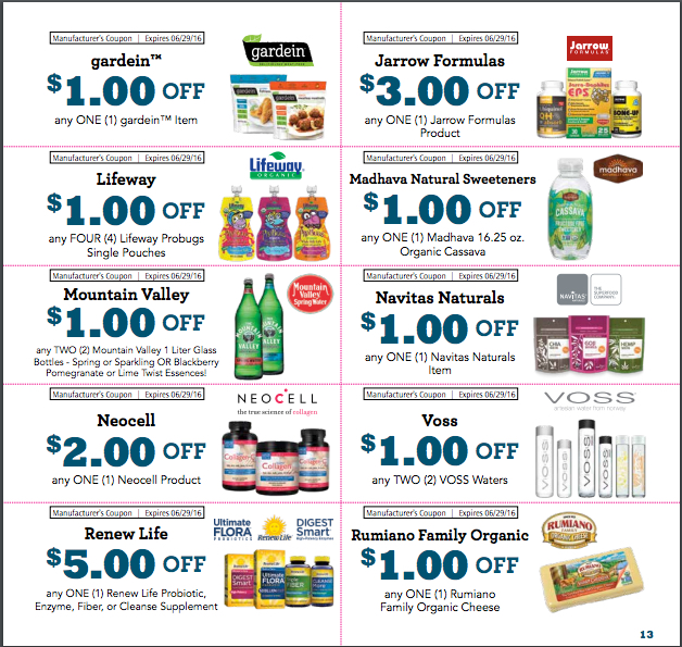 NEW Sprouts Coupons for May Monthly Flyer 3