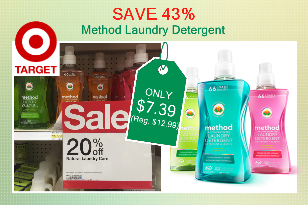 method laundry detergent coupon deal