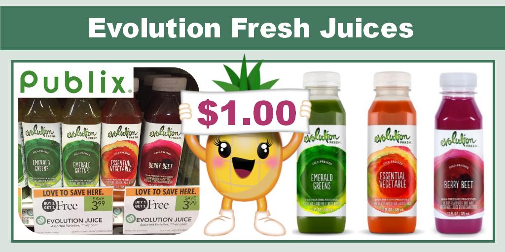 Evolution fresh coupon