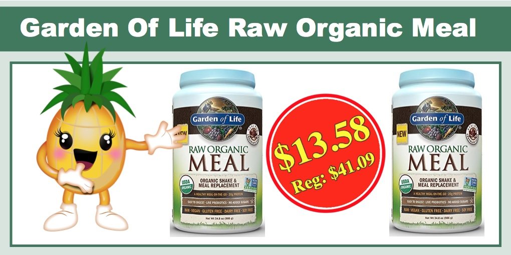 Garden of life coupons