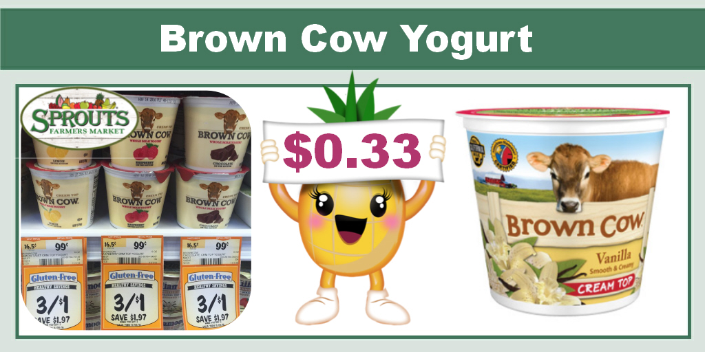 Never miss another coupon. Be the first to learn about new coupons and deals for popular brands like Brown Cow with the Coupon Sherpa weekly newsletters.