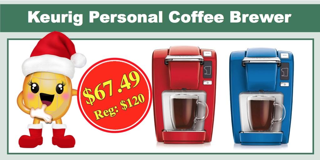 Keurig Coffee Maker K10 Manual : **TODAY ONLY** Keurig K10/K15 Personal Coffee Brewer - ONLY USD 67.49 (Reg: USD 120)!
