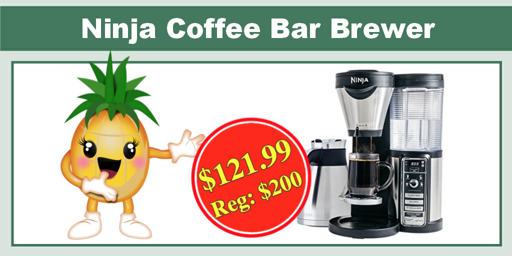 *TODAY ONLY* Ninja Coffee Bar Brewer - ONLY USD 121.99 (Reg. USD 200)!