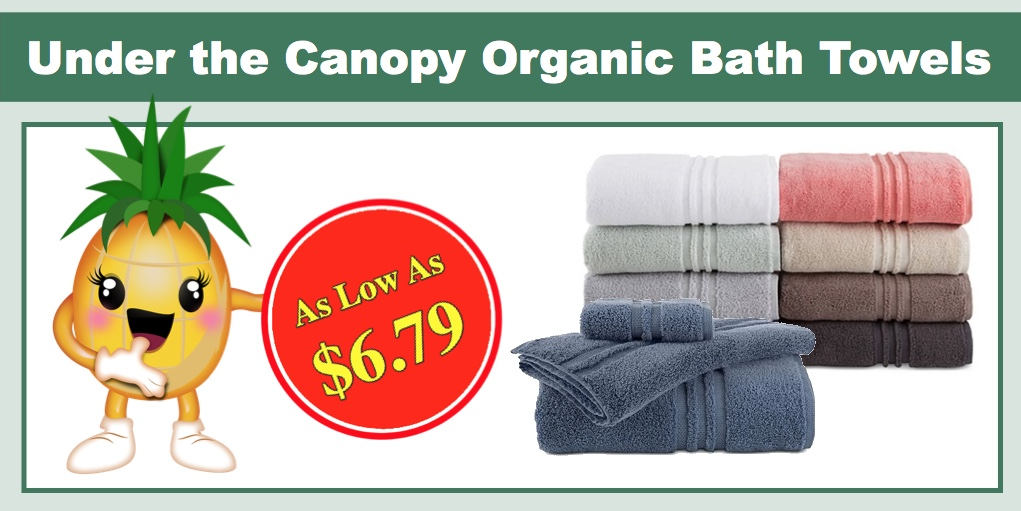 Under the Canopy Organic Bath Towel Collection - As Low As $6.79 (Reg $14.99+)!  sc 1 st  I Heart Natural Deals : canopy towels - memphite.com