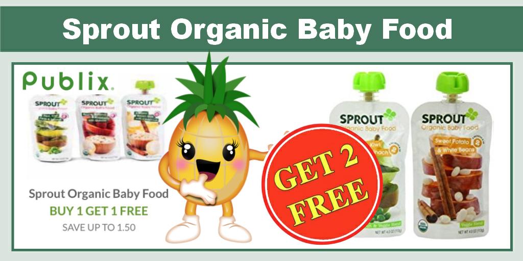 Organic baby food coupons