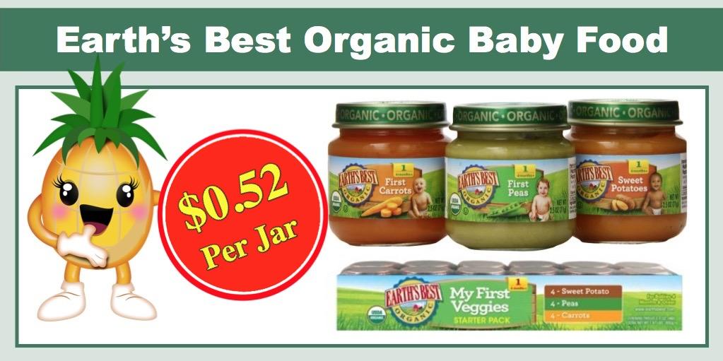 Best deals on baby food this week