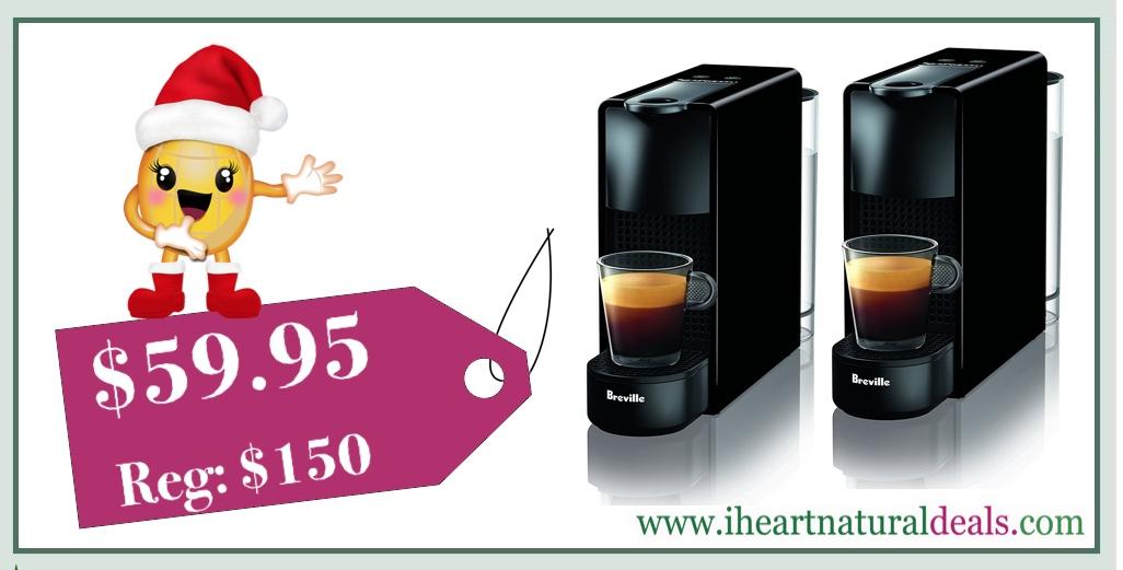 🏃💨 TODAY ONLY! Nespresso Essenza Mini Espresso Machine - Only ...